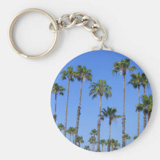 Palm Trees in the Sky Keychain