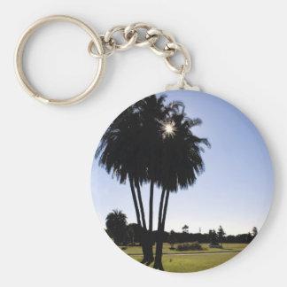 Palm trees key chains
