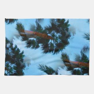 Palm trees kitchen towel