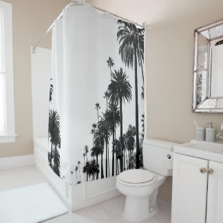 Palm Trees LA Shower Curtain