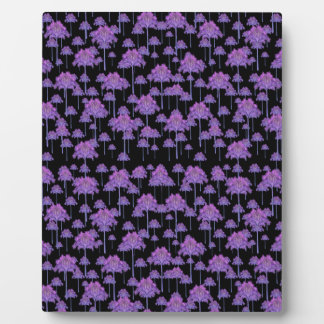 Palm Trees Motif Pattern Plaque
