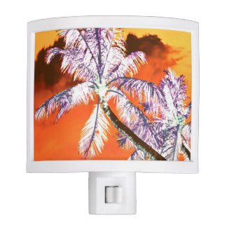 Palm Trees Night Light