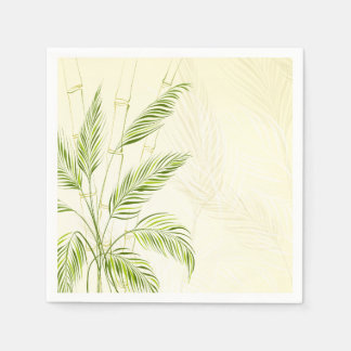 Palm Trees on Bamboo Forest | Napkin