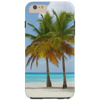 Palm Trees On Beach Phone Case