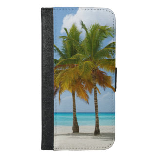 Palm Trees On Beach Phone Wallet Case