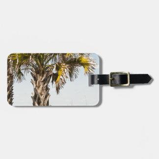 Palm Trees on Myrtle Beach East Coast Boardwalk Luggage Tag