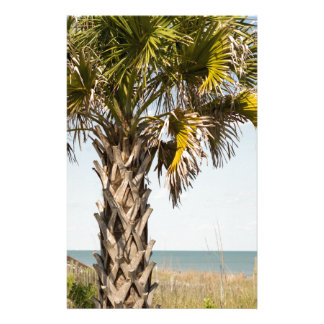 Palm Trees on Myrtle Beach East Coast Boardwalk Stationery
