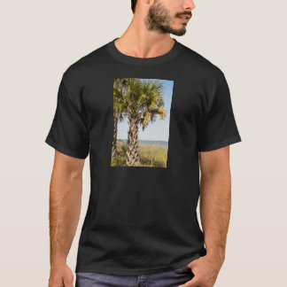 Palm Trees on Myrtle Beach East Coast Boardwalk T-Shirt