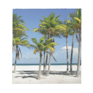 Palm Trees on Sunny Key Biscayne Notepad