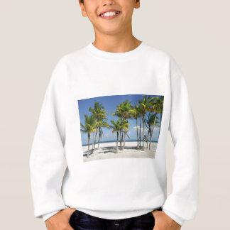 Palm Trees on Sunny Key Biscayne Sweatshirt