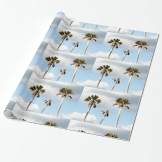 Palm Trees On The Beach Wrapping Paper