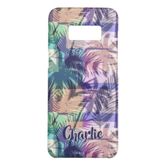 Palm Trees Pattern custom name phone cases