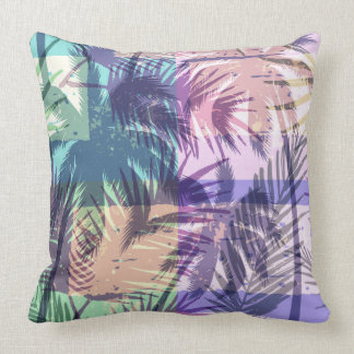 Palm Trees Pattern throw pillows