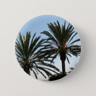 Palm trees photo Round Badge 2 Inch Round Button