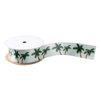 Palm Trees Satin Ribbon