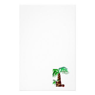Palm  Trees Stationary Stationery