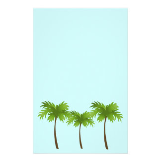 Palm Trees Stationery