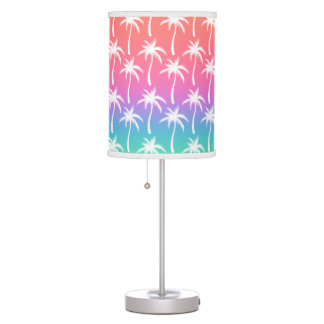 Palm Trees - Sunrise Lamp