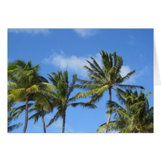 Palm Trees Sway Card