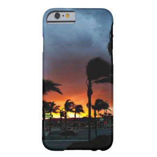 Palm Trees Swaying in the Breeze at Sunset Barely There iPhone 6 Case