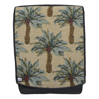 Palm Trees Tapestry Texture Look