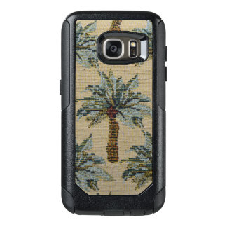 Palm Trees Tapestry Texture Look OtterBox Samsung Galaxy S7 Case