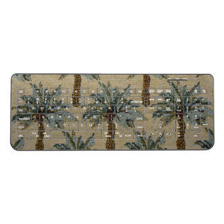 Palm Trees Tapestry Texture Look Wireless Keyboard