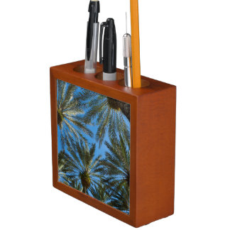 Palm Trees Umbrella Desk Organizer