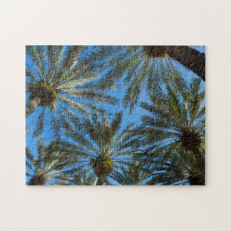 Palm Trees Umbrella Jigsaw Puzzle