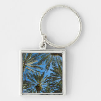 Palm Trees Umbrella Keychain