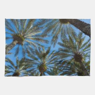 Palm Trees Umbrella Kitchen Towel