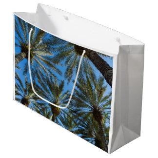 Palm Trees Umbrella Large Gift Bag
