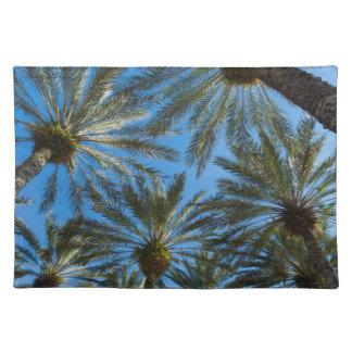 Palm Trees Umbrella Placemat
