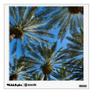 Palm Trees Umbrella Wall Decal
