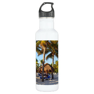 Palm Trees Water Bottle