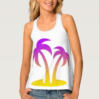 Palm Trees Women's Racerback Tank Top
