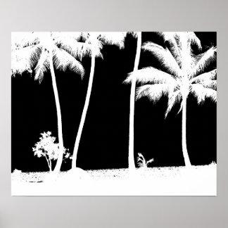 Palm Tress Poster