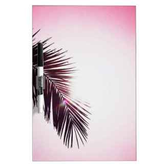 Palm winks Leaf with Sun Dry Erase Board