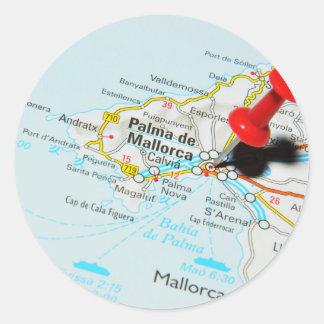 Palma de Mallorca, Spain Classic Round Sticker