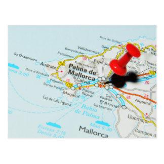 Palma de Mallorca, Spain Postcard