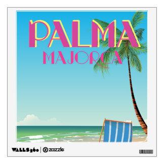 Palma Majorca Beach holiday poster Wall Decal