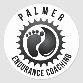 Palmer Endurance Coaching Round Sticker