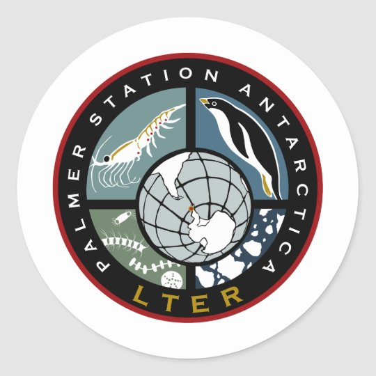 Palmer LTER Logo Products Classic Round Sticker
