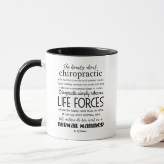 Palmer Quote The Beauty About Chiropractic Mug