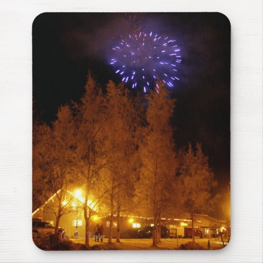 Palmer RailRoad Depot Colony Christmas 2009 #5 Mouse Pad