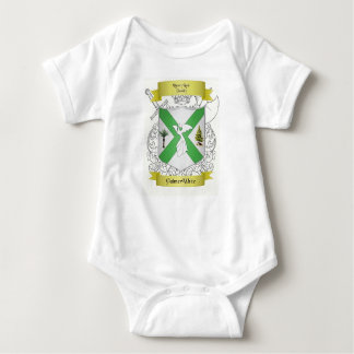 Palmer/White Family Crest Baby All in One Baby Bodysuit