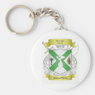Palmer/White Family Crest Key Chain