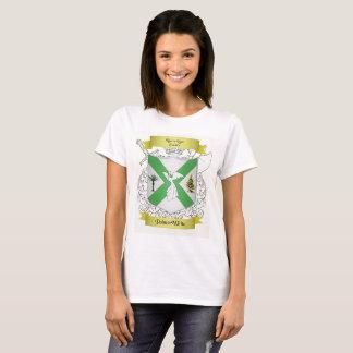 Palmer/White Family Crest Short Sleeved T-Shirt
