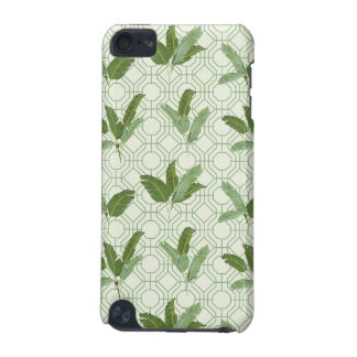 Palmettes tropicales coque iPod touch 5G