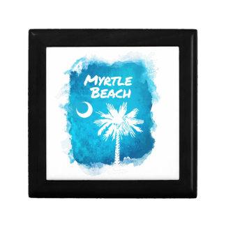 Palmetto Paint Splatter Gift Box